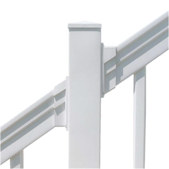 industrial stair railing