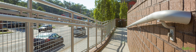 ᑕ❶ᑐ Aluminum and Stainless Steel Brackets - Industrial Railings