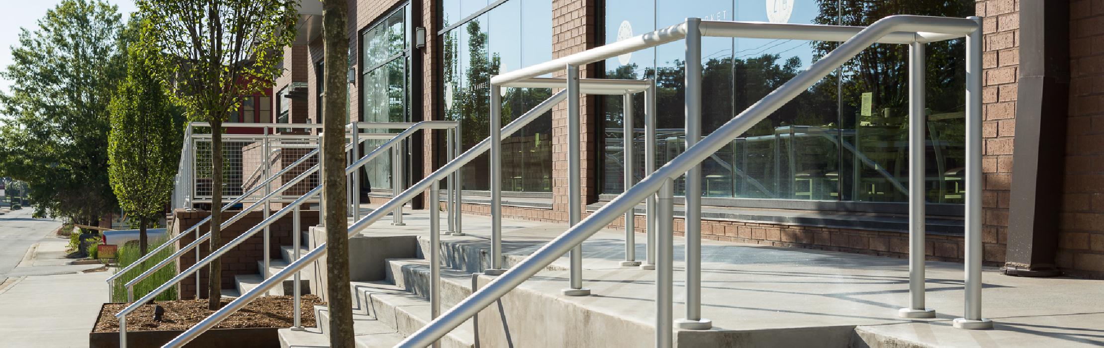 Hollaender Interna Rail - Aluminum Handrail System
