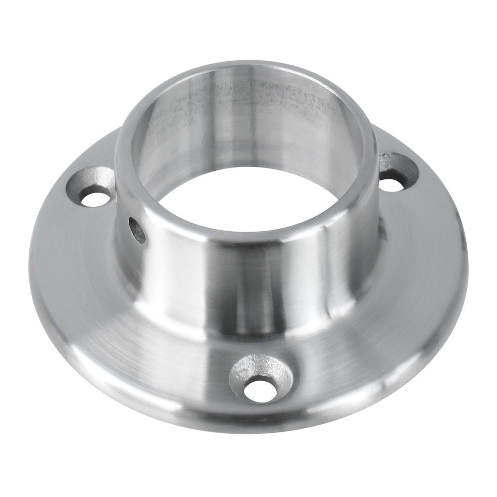 Satin Brushed Stainless Steel 3 Quot Diameter Wall Flange 1