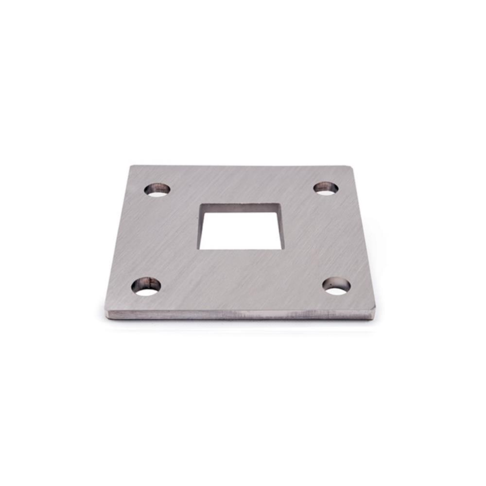 Floor flange for square tube 593 architectural for 1 inch square floor flange