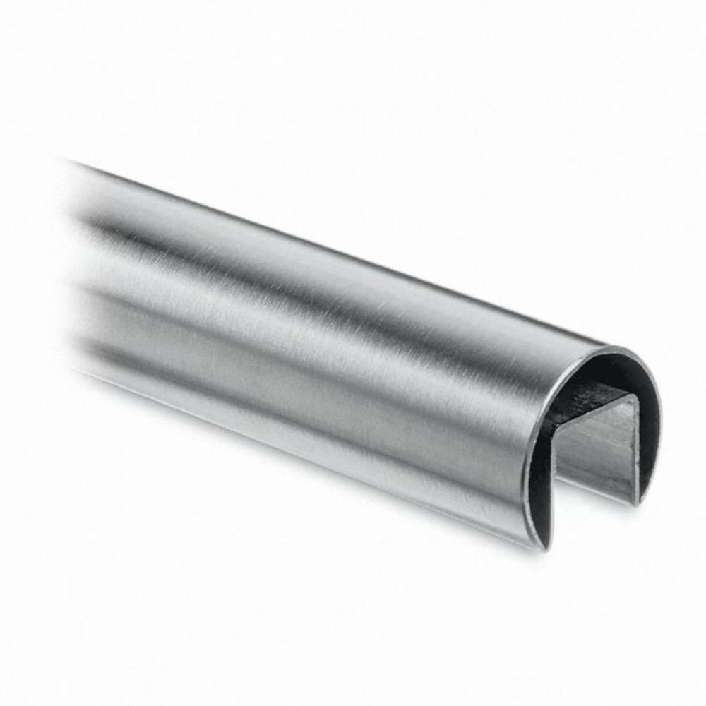 Channel tube satin stainless steel tubing size