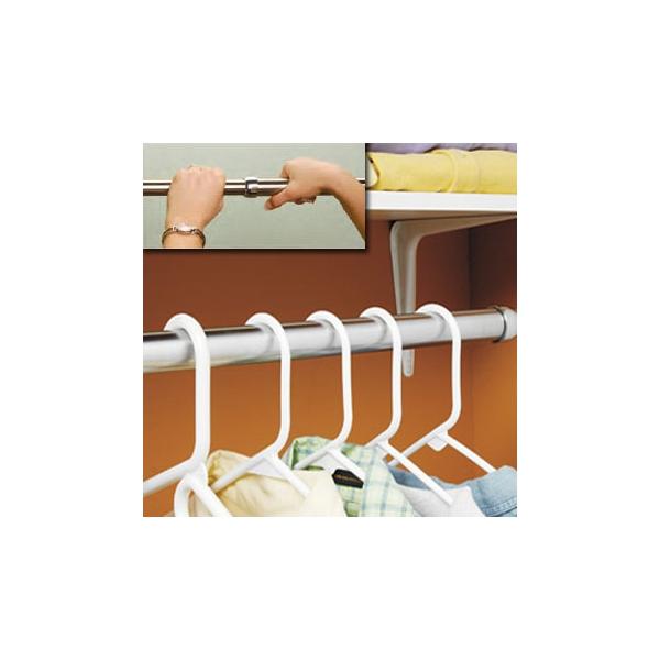 E103 Lido Design Extend U0026 Lock Closet Rod