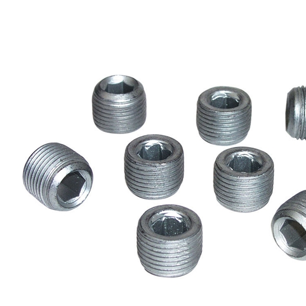 Set screw galvanized steel for size fittings kk