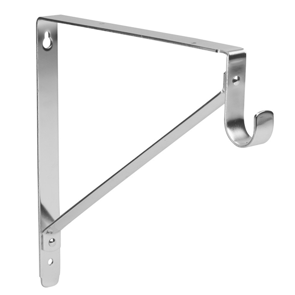 Polished Chrome Lido Shelf Amp Rod Bracket 1 5 16 Quot Tubing