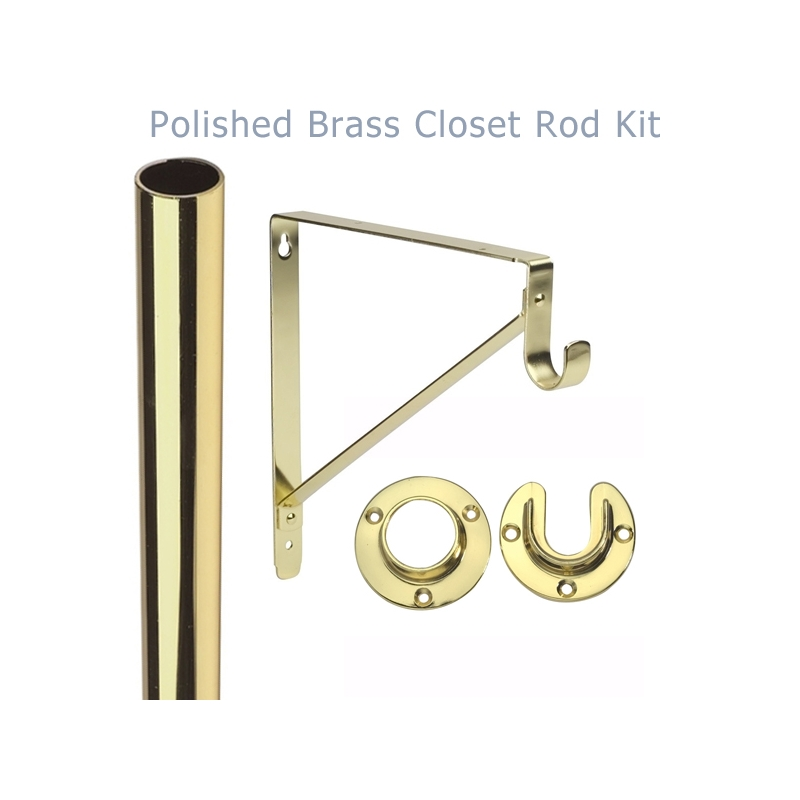 ideas polar closet plus rod la also polanco brass pole poles