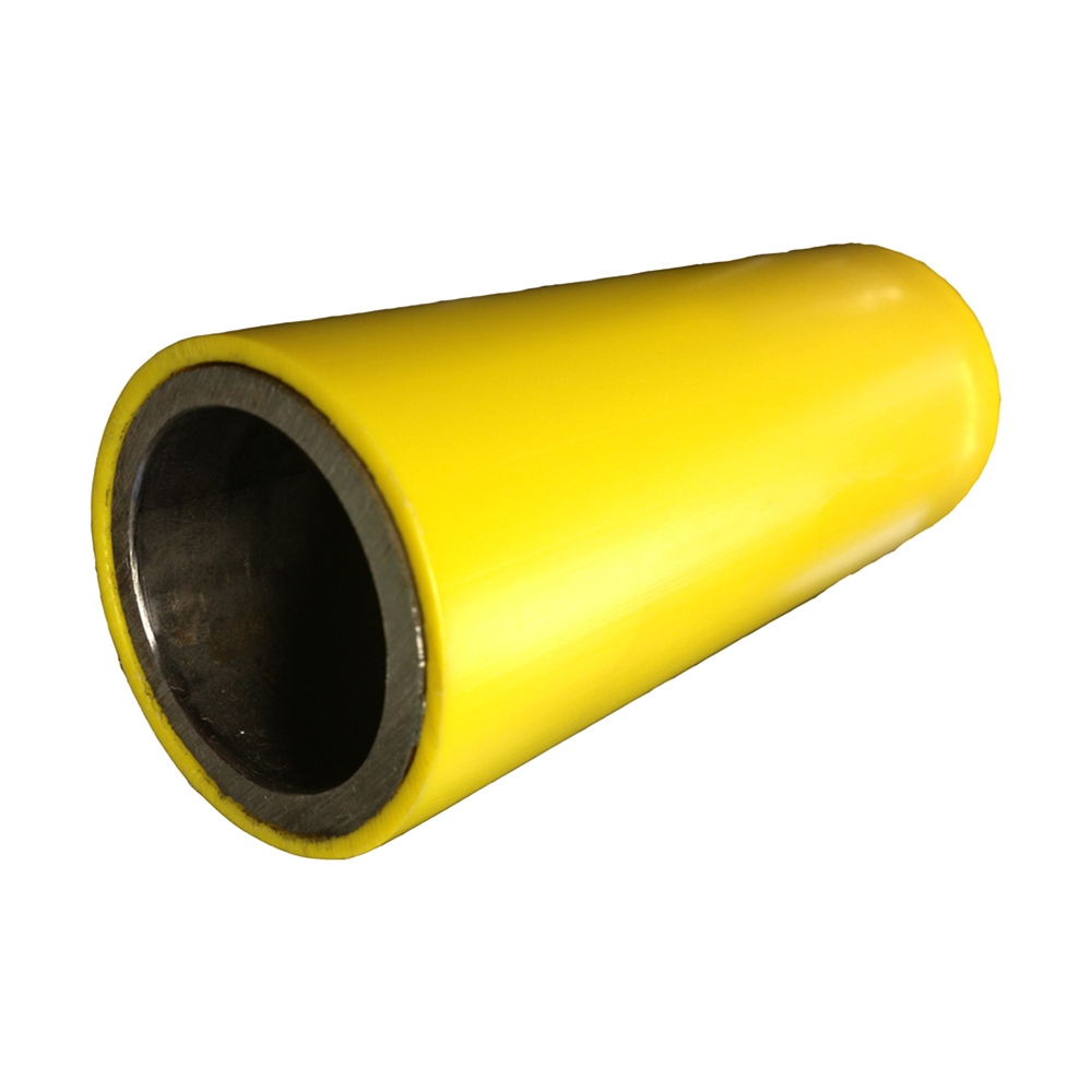 Quot ips steel pipe with plastic sleeve for