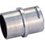47-830/1H16 316 Polished Stainless Steel Connector For Tubing  1-1/2%22 Tubing 16 Gauge